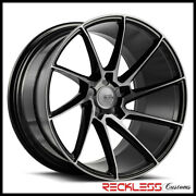 Savini 22 Bm15 Tinted Concave Directional Wheels Rims Fits Cadillac Cts Coupe