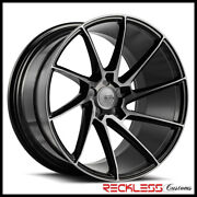 Savani 19 Bm15 Tinted Concave Directional Wheels Rims Fits Dodge Charger Awd