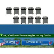 Replacement Battery For Invisible Fence Dog Collar R21/r22/r51/microlite X10 Pcs