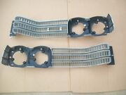 Nos Mopar 1972 Chrysler New Yorker Town And Country Left Right Grille Pair