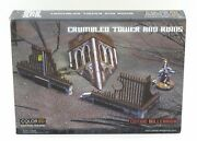 Plast Craft Games Gt002 Crumbled Tower And Ruins Gothic Millenium Terrain