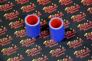 2 X Vito's Yamaha Banshee Exhaust Pipe Clamps 1 Fmf Toomey Blue Silicone 87-06