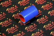 1 X Vitoand039s Yamaha Banshee Exhaust Pipe Clamps 1 Fmf Toomey Blue Silicone 87-06