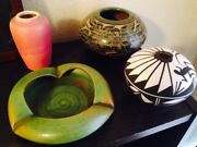 Vintage Art Pottery Smalls Group Of 4 Priced To Sell! Nice Collective Gift