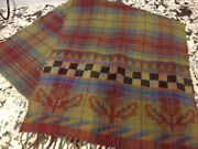 MacKenzie-Childs Tartan Scarf - mint condition, luxurious and beautiful!!!1