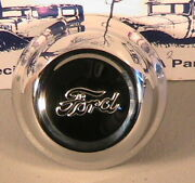 1928-1929 Ford Model A Polished Stainless Steel Hub Cap For 21 Wheels One 1