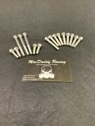 Macdaddy Racing Stainless Bolt Kit Yamaha Banshee Clutch Cover And Stator Cover