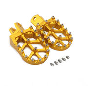 Cnc Wide Foot Pegs Pedals Rests Footpegs For Rm125 Rmx250z Rmx250 Drz400 Rm250