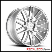 Savini 20 Bm13 Silver Concave Wheels Rims Fits Ford Mustang Gt Gt500