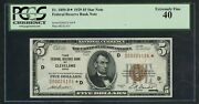 Fr1850-d 5 1929 Frbn Star Note Pcgs 40 Xf Only 18 Known 3rd Finest Wlm4917