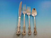 Melbourne By Oneida Sterling Silver Regular Size Place Settings 4pc