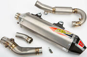 Pro Circuit 0351745f Ti-6 Exhaust System Carbon End Caps