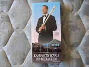 1999 Kansas City Royals Media Guide Yearbook George Brett Hall Of Fame Book Ad