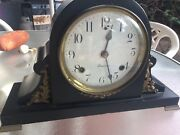 1920s Antique Sessions Mantle Clock Professionally Restored And Running
