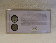 2009 Guam - First Day Cover - Sealed Cello - P And D Mint State Quarter - Wb3