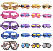 New Crg Vintage Bike Aviator Pilot Motorcycle Cruiser Scooter Goggles T08 Series