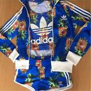 Rare Adidas Farm Collaboration Pineapple Tshirt And Pants Set Of 4 Piece From Jp