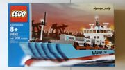 New Lego 10152 Maersk Sealand Container Ship Nisb Limited Edition
