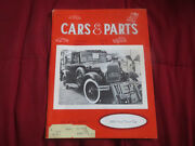Cars And Parts Vintage Magazine January 1972 Ford Town Car