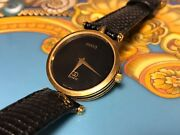 Vintage 1970and039s Dress Watch Double G Swiss Made Estate Find
