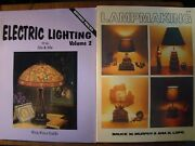 3 Books Electric Lighting Of The 20s And 30s American 1840-1940 And Lampmaking