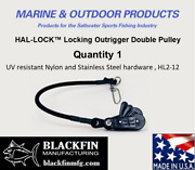 Hal-lock Andtrade Hl2-12 Locking Outrigger Double Pulley - Ships Same Business Day