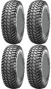 Four 4 Maxxis Liberty Atv Tires Set 2 Front 28x10-14 And 2 Rear 28x10-14