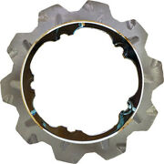 Lyndall Brakes High Carbon Steel Phoenix Front Rotor Chrome 537-0315