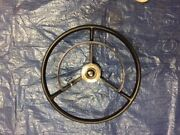 1956 T-bird Thunderbird Steering Wheel, Horn Ring And Spring Excludes Turn Cam