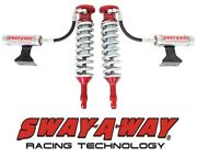 Sway-a-way 2.5 Front Remote Reservoir Coilover Kit Fits 2005-2017 Toyota Tacoma