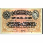 [212723] Banknote East Africa 20 Shillings = 1 Pound 1955 1955-01-01 Km35