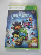 Disney Universe - Xbox360 - Video Game - Suit Up With 45 Costumes And Upgraded..