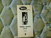 1962-63 Youngstown State Penguins Basketball Media Guide Yearbook Dom Rosselli