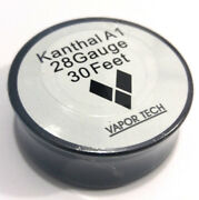 30 Ft - 28 Gauge Awg A1 Kanthal Round Wire 0.51mm Resistance A-1 28g Ga