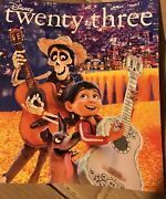 New Disney D23 Magazine Winter 2017 Featuring Coco And Cover Glows In Dark Pixar