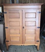 Vintage Antique Oak 24 Drawer Lawyers File Cabinet Apothecary Cupboard