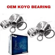 Front Wheel Hub And Koyo Bearing And Seal For 2001-2006 Toyota Tundra 2wd Only Pair