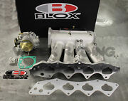 Blox Intake Manifold And 66mm Throttle Body For Honda Civic Si 99-00 Acura Typer