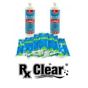 Rx Clear Algae Prevention And Shock Swimming Pool Chemical Kit For Up To 3 Months