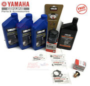Yamaha F40 Outboard Oil Change Kit Gear Lube Thermostat 10w30 Lub-mrnsm-kt-10