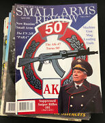 Lot Of 14 Small Arms Review Magazine Guns Military Volumes 1 To 8 1998 To 2005