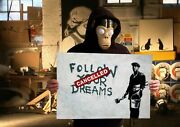 Banksy - Cancelled Dreams - High Res, Museum Grade Print - Not Canvas Or Poster