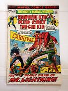 The Mighty Marvel Western Featuring Rawhide Kid Kid Colt Two-gun Kid 21 1972