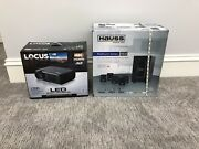 Full Home Theater System 4k Projector Wall Screen 5.1 Speakers Everything