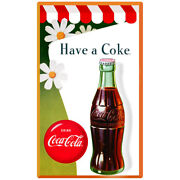 Coca-cola Daisies Have A Coke Wall Decal Vintage Style Coke