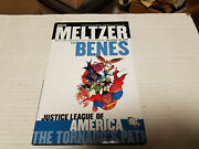 Justice League Of America The Tornado's Path Vol. 1 By Brad Meltzer Signed 1st