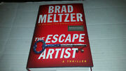 The Escape Artist By Brad Meltzer 2018, Hardcover Signed 1st/1st B And N Edition