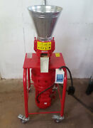 Model 150 6 5hp 1ph Vertical Feed/fuel Pellet Mill. Usa In Stock. Free Shipping