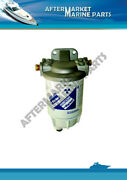 Universal Water Separating Fuel Filter With Stainless Steel Bracket