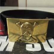Cream Soda Belt Buckle Vintage Rare From Japan Free Shipping